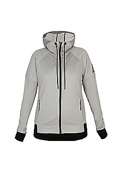 Adidas Ladies Running Hoody - Grey