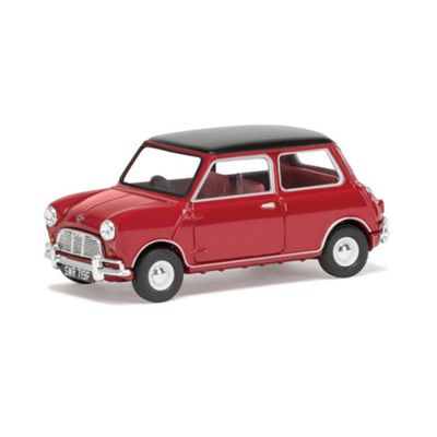 CORGI VA02539 Mini Cooper S, Tartan Red &