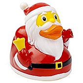 Lilalu Father Christmas Santa Claus Rubber Duck Bathtime Toy
