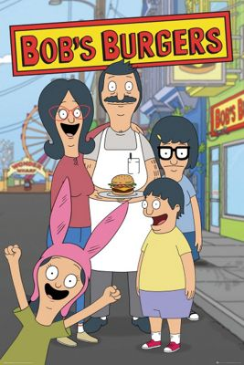 Bobs Burgers Family Poster 61x91.5cm