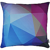 Rocco Prism Sapphire Cushion Cover - 43x43cm