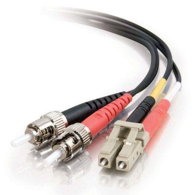 Cables to Go 5m LC/ST Duplex 62.5/125 Multimode Fibre Cable Black