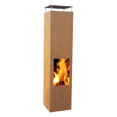 Gardenmaxx Amayo 160cm Fireplace - Corten