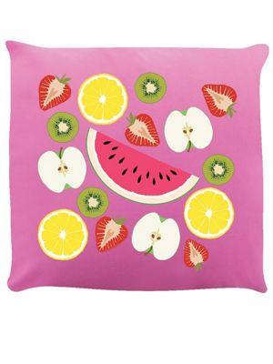 Fruity! Cushion 40x40cm Pink