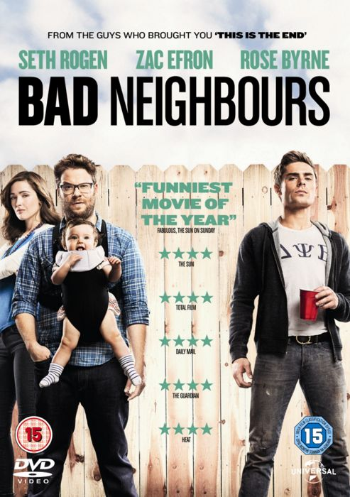Bad Neighbours Dvd