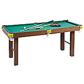 Homcom 4ft Mini Pool Table Billiards Tabletop Snooker Toy with All Accessories