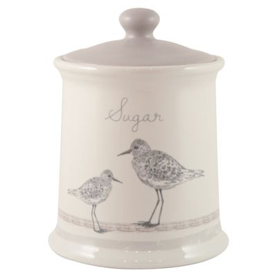 English Tableware Co. Sandpiper Sugar Canister