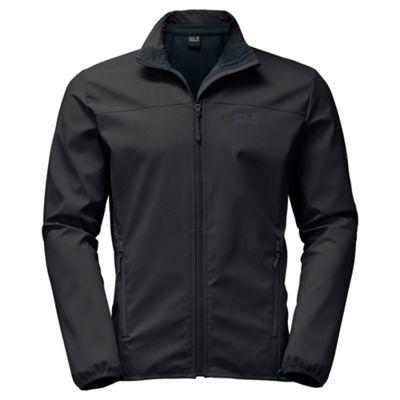 Jack Wolfskin Mens Element Altis Softshell Jacket Black 2XL