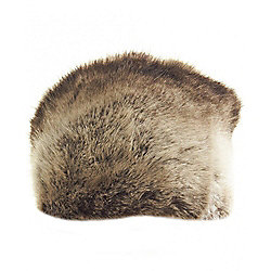 Joules Saskia Faux Fur Russian Hat One Size Brown Catalogue Number  177-0643 65b6d6709d4