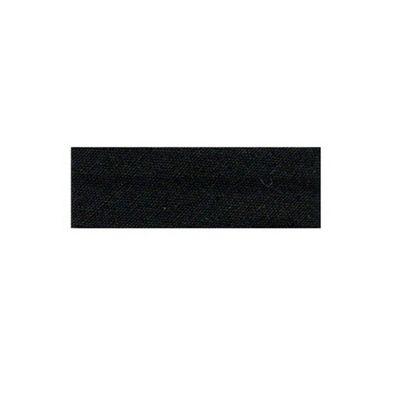 Essential Trimmings Polycotton Bias Binding, 2.5m x 25mm, Black