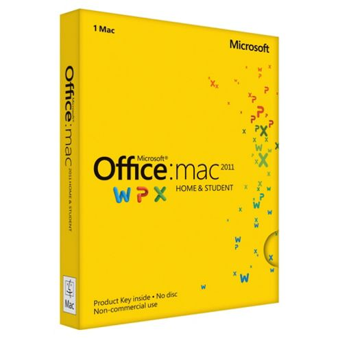 Microsoft Office Home & Student 2011 for Mac
