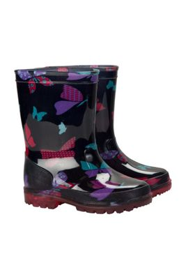 Mountain Warehouse SPLASH JUNIOR KIDS FLASHING LIGHTS WELLY