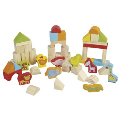 Carousel Wooden Building Blocks