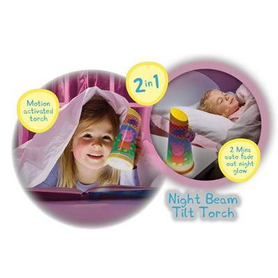 Peppa Pig Go Glow Tilt Torch and Night Light