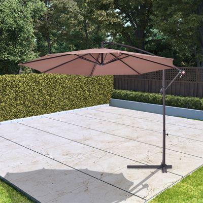 BillyOh 3m Garden Parasol Cantilever - Tan