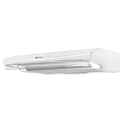 Hotpoint HTV10S First Edition 60cm Canopy Cooker Hood - Stainless Steel