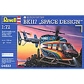 Eurocopter BK 117 Space Design 1:72 Scale Model Kit - Hobbies