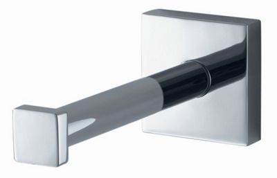 Haceka Mezzo Spare Toilet Roll Holder in Chrome