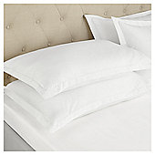 Fox & Ivy Egyptian    Fitted Sheet - White