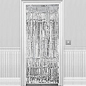 Silver Metallic Door Curtain - 2.4m