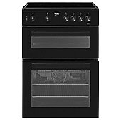 Beko Freestanding 60cm Electric Cooker, KDC611K - Black
