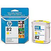 HP 82 Ink Cartridge -Yellow
