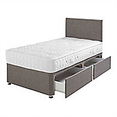 Airsprung Pocket 1000 Mattress with 2 Drawer Divan