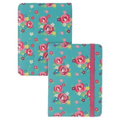 Trendz Kindle Fire HD Case Floral Turquoise