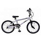"Hawk Urban Freestyler BMX Bike 20"" Wheel White"