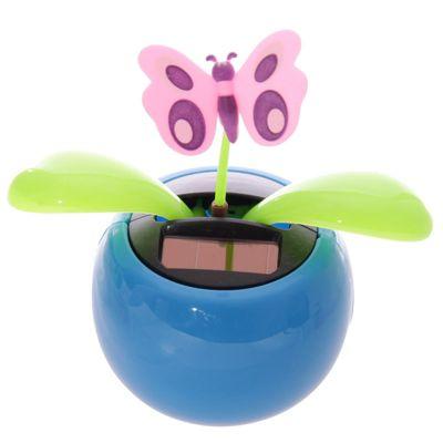 Puckator Novelty Solar Pal Ornament, Blue Butterfly