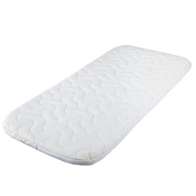 Mamas & Papas Deluxe Foam Mattress, Carrycot 74X33Cm