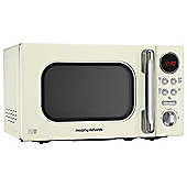 Morphy Richards 511501 Accents 20L Solo Microwave, Cream