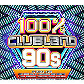 Various Artists - 100% Clubland 90S (4Cd)