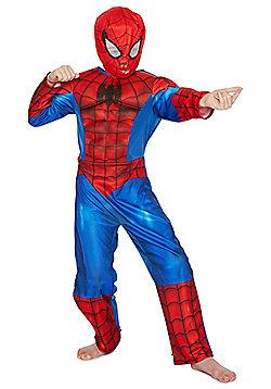 Marvel Light-Up Spider-Man Costume - Blue