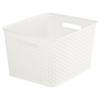 Curver My Style Cream 18L Storage Basket
