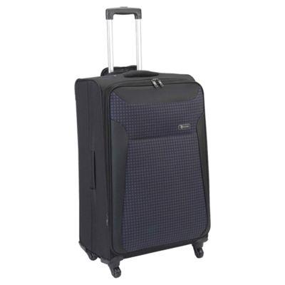 Revelation by Antler Nexus 4-Wheel Suitcase, Black Check Large