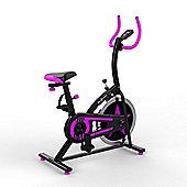 RevXtreme OldSkool Indoor Cycle Studio Exercise bike PURPLE