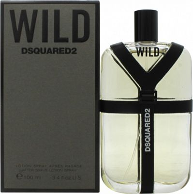 Dsquared2 Wild Aftershave Lotion 100ml For Men