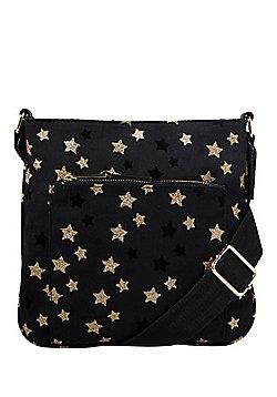 F&F Glitter Star Cross-Body Bag
