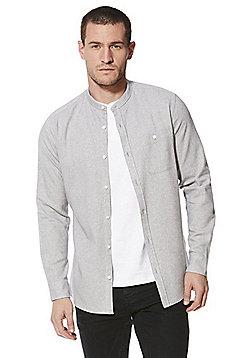 F&F Grandad Shirt and T-Shirt Set - Grey & White
