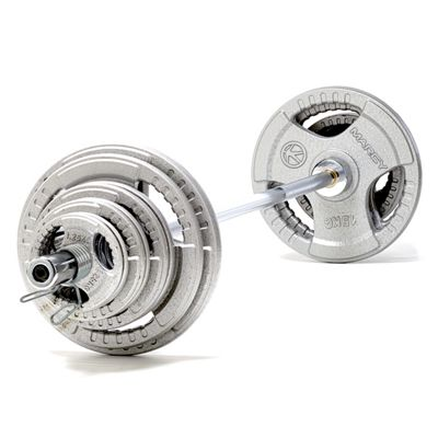 Marcy 100kg Olympic Weight Set with 6ft Barbell