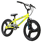 Terrain BMX 1020T 20 inch Wheel Yellow Kids Bike