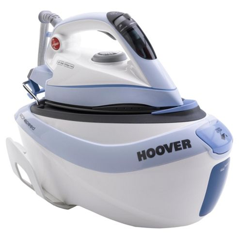 Hoover SFD4102/2 Easy Glide Ceramic Plate Steam Generator Iron - Blue & White