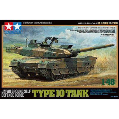 Tamiya 32588 JGSDF Type 10 Tank 1:48 Military Model Kit