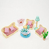 Sweetbee Living Room Dolls House Furniture Set
