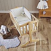 Clair de Lune 2pc Crib Bedding Set (Lullaby Hearts)