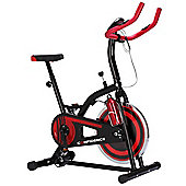 Confidence S1000 Indoor Cycling Exercise Bike W/ 10Kg Flywheel & Pulse Sensors