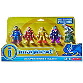 Fisher Price - Imaginext - DC Super Friends - DC Super Heroes and Villains pack