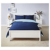Reversible Duvet Set - Blue