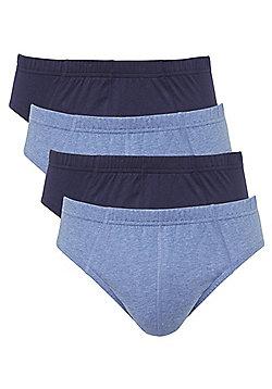 F&F 4 Pack of Slips - Blue
